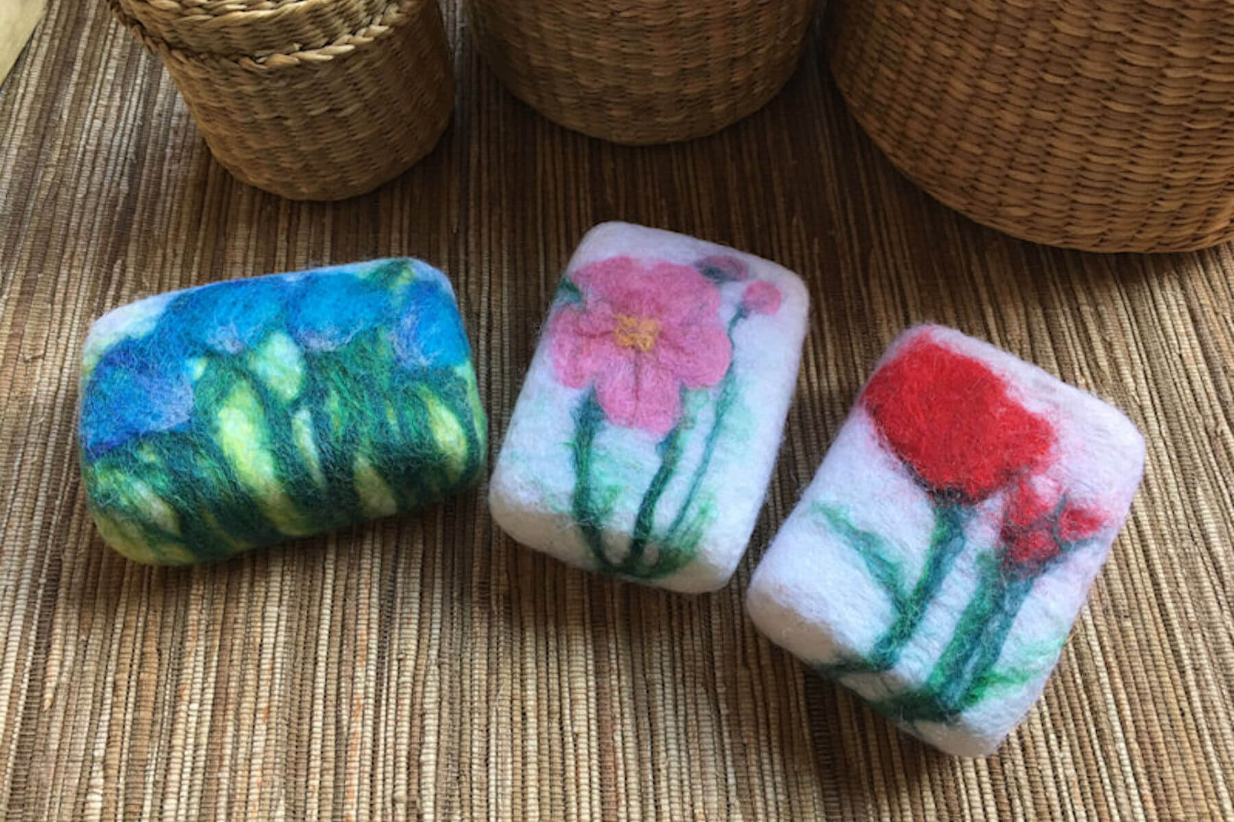 What are Felted Soaps?